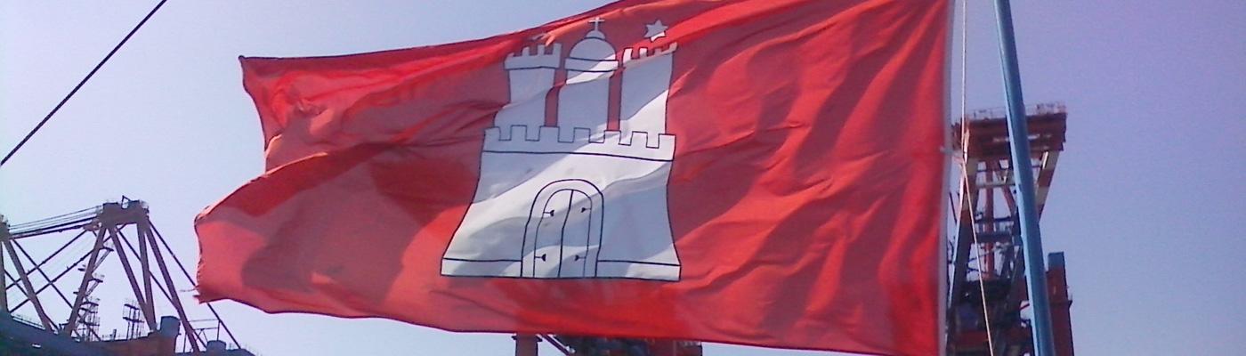 Lichtservice Hamburg - Historie Hamburgflagge